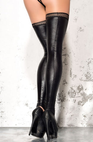 Me Seduce ST01 Wetlook Stockings