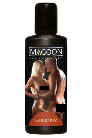 Magoon Sandalwood Massage Oil 100ml