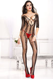 Music Legs Bodystocking 1021