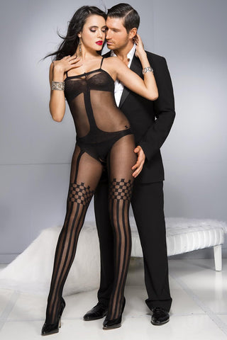 Music Legs Bodystocking 1026