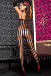 Music Legs Bodystocking 1567