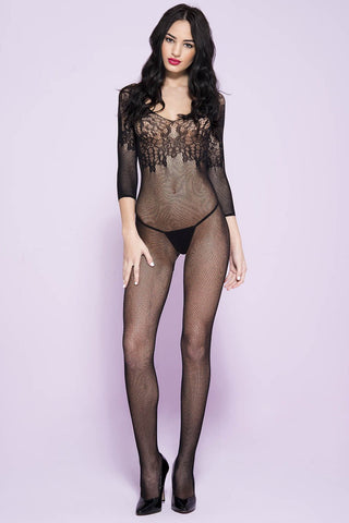 Music Legs Bodystocking 1570