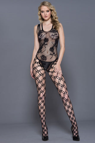 Music Legs Bodystocking 1823