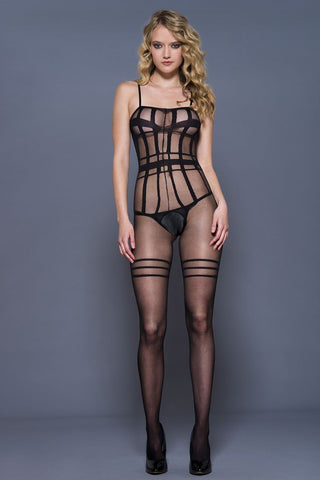 Music Legs Bodystocking 1191