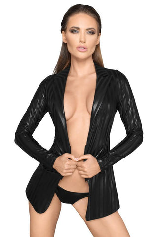 Noir Handmade Wetlook Jacket