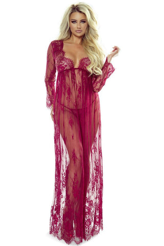 Provocative 7046 Elegant Robe Wine