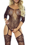 Provocative 4922 Black Bodystocking