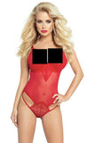 Provocative Code Interdit Body Red