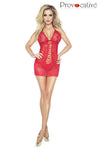 Provocative Code Interdit Chemise Red