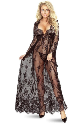 Provocative So Elegant Robe Black