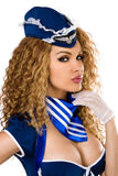 Saresia RolePlay Retro Stewardess Costume