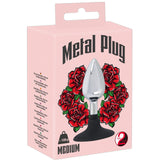 You2Toys Metal Plug with Suction Cup Medium