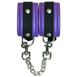 Bound to Tease Ankle Restraints Purple - Fetshop