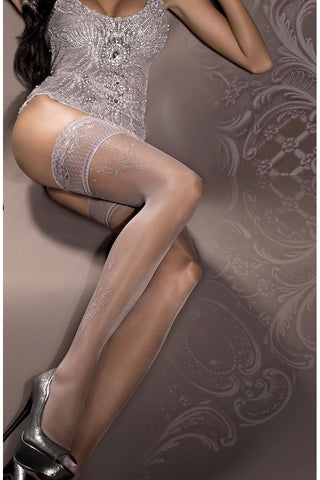 Ballerina Stockings Fumo Smoke - 294