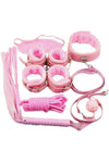 Bondage Kit 8 Piece Pink