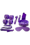Bondage Kit 8 Piece Purple
