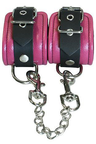 Bound to Tease Ankle Restraints Pink