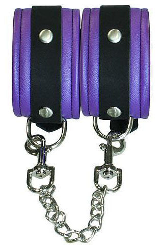 Bound to Tease Ankle Restraints Purple