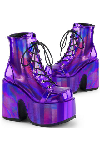 Demonia CAMEL-203 Boots Purple
