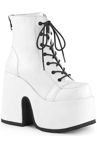 Demonia CAMEL-203 Boots White