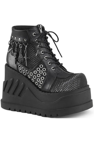 Demonia STOMP-18 Shoes Black