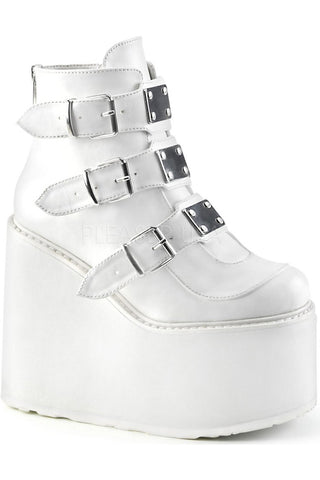 Demonia SWING 105 Boots White
