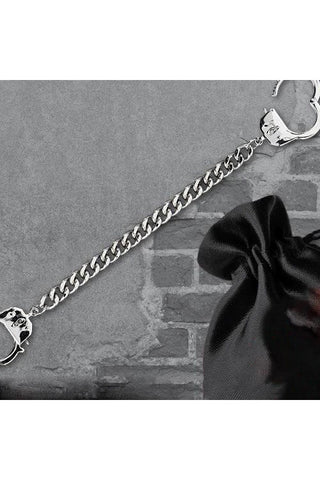Echt etNox Chained and Locked Handcuff Bracelet