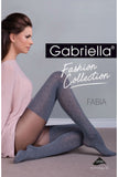 Gabriella Fabia Tights Melange/Grey