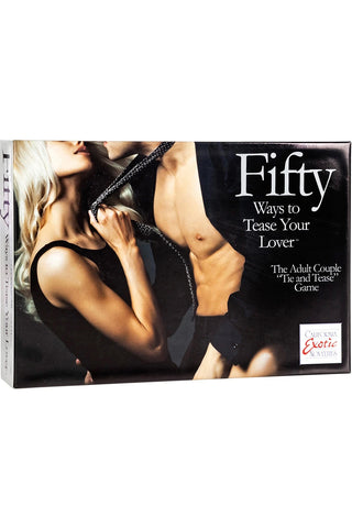 Fifty Ways To Tease Your Lover. Tie and Tease Game