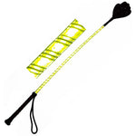 Fluorescent Riding Crop with Glitter Hand Spanker - Fetshop