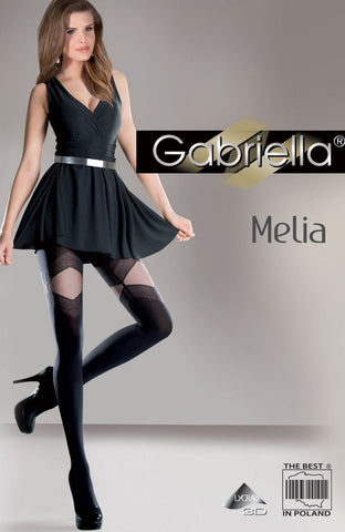 Gabriella Fantasia Melia Tights Black