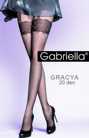 Gabriella Gracya Nero Tights Black
