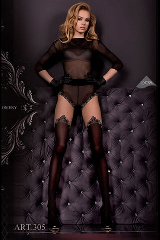 Hush Hush By Ballerina Tights - 305 - Fetshop