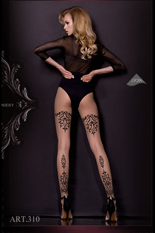Hush Hush By Ballerina Tights 310 - Fetshop