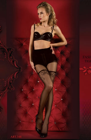 Hush Hush By Ballerina Tights - 348 - Fetshop