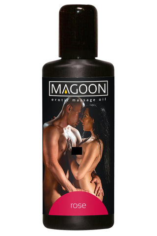 Magoon Rose Erotic Massage Oil 100ml