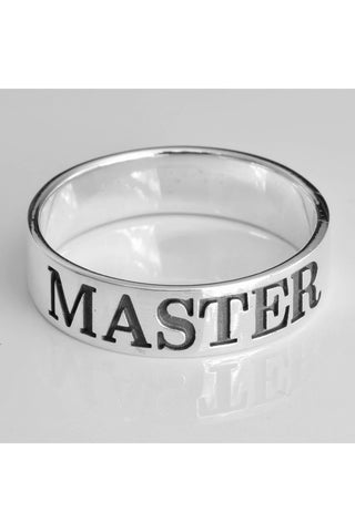 Master Ring Sterling Silver