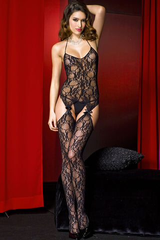 Music Legs Bodystocking 1343