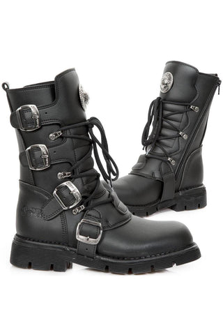 New Rock Vegan Comfort Sole M.1473-V1 Boots