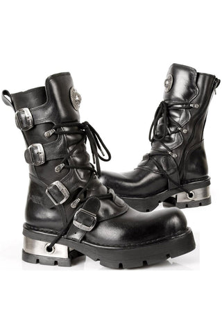 New Rock Mid Calf Boots M.373-S1