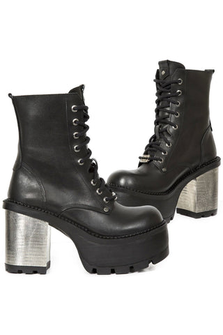 New Rock Crust Seventy Ladies Ankle Boots M.SEVE22-S1