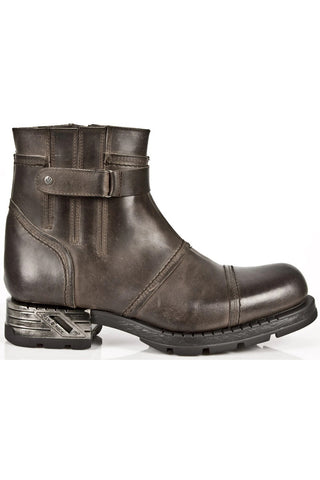 New Rock Brown Motorock Boots M.MR013-S2