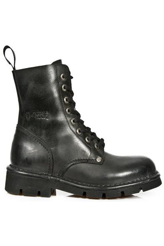 New Rock Combat Boots M-NEWMILI084-S1
