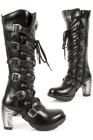 New Rock Ladies Tall Boots M.TR004-S1