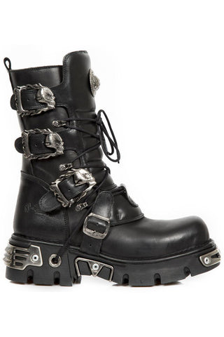 New Rock Metallic Collection Gothic Boots M.391-S1