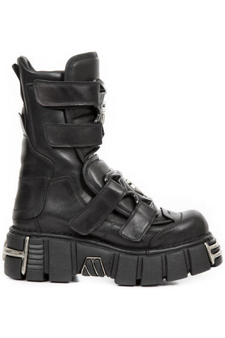 New Rock Velcro Tower Boots M.422-S1