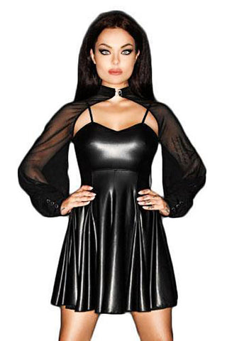 Noir Handmade Immoral Mini Dress F118 - Fetshop