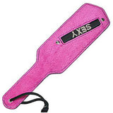 Pink Sexy Paddle, Bound to Tease, Pink / Diamante - Fetshop
