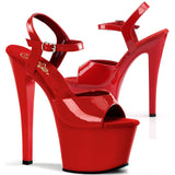 Pleaser SKY 309 Shoes Red
