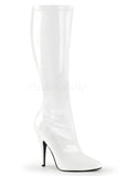 Pleaser SEDUCE-2000 Boots White